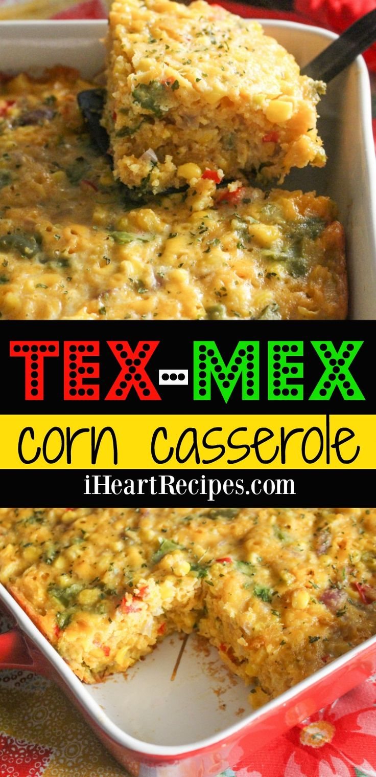 How to make homemade Tex Mex corn casserole… You gotta make this ASAP y'all! I'm starting to notice a trend y'all! You all must love corn recipes, because I am constantly ge…