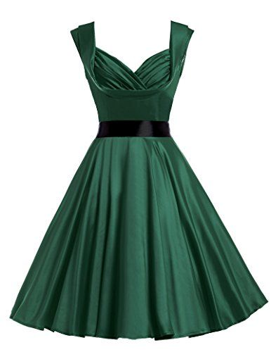 Vintage 1950s Dress Short Homecoming Party Dresses Dark Green S Belle Poque http://www.amazon.com/dp/B013HY51C2/ref=cm_sw_r_pi_dp_IZ38vb1WQEVS6