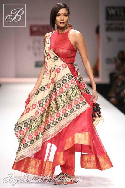 Vaishali S ethnic wear collection at WLIFW 2013