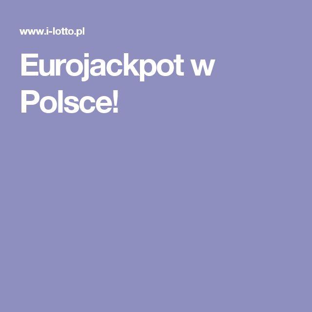 Eurojackpot w Polsce!