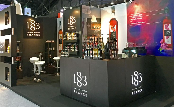 We are at Thaifex Salon, in Bangkok! Perfect place to taste our syrups, don't you think? ;-) #barista #bartender