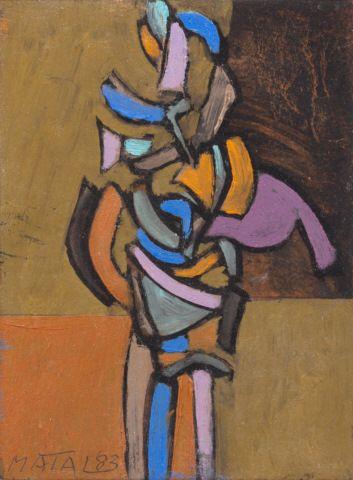MATAL BOHUMÍR (1922–1988) Bez názvu, 1983