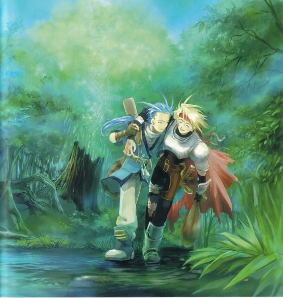 Tales of Phantasia-Chester and Cress