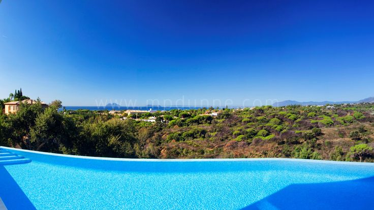 Minimalistic Contemporary Villa for sale with Spectacular Views  http://www.mpdunne.com/en-MPV2978_villa-elviria-marbella+east.html