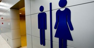 A debate over transgender students using opposite-sex bathrooms erupts in South Dakota. (Photo: Rafael Ben-Ari/Chameleons Eye/Newscom)