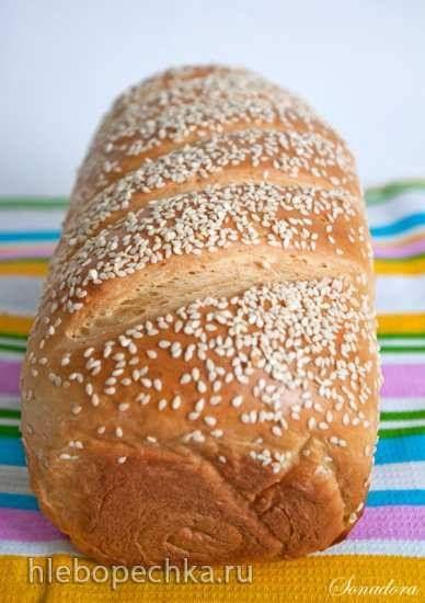 Деликатный молочный хлеб (Delicate milk loaf) от Dan Lepard