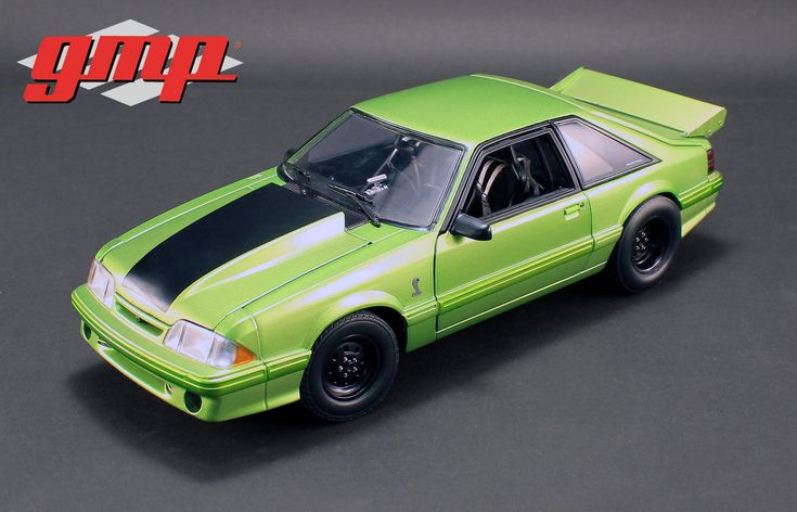 """diecastmodelswholesale - 1993 Ford Mustang Cobra Nitro Green 1320 Drag Kings """"King Snake"""" Limited Edition to 450 pieces Worldwide 1/18 Diecast Model Car by GMP, $139.95 (https://www.diecastmodelswholesale.com/1993-ford-mustang-cobra-nitro-green-1320-drag-kings-king-snake-limited-edition-to-450-pieces-worldwide-1-18-diecast-model-car-by-gmp/)"""