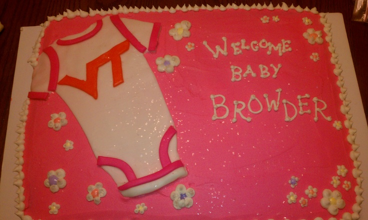Baby Shower Cakes Va ~ Best images about virginia tech on pinterest dress