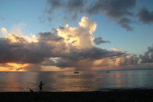 Thunderstorm at Sea, from Montserrat