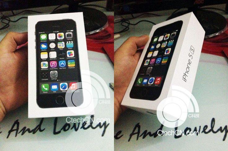 iPhone 5S Verpackung: der Ring um den Homebutton - http://apfeleimer.de/2013/09/iphone-5s-verpackung-ring-um-homebutton - Noch dreimal schlafen bis zur iPhone 5S Keynoteund plötzlich tauchen Bilder der iPhone 5S Verpackung mit silbergrauem Ring um den Homebutton auf. Die Anspielung auf den Homebutton soll bereits über die grauen Kreise auf der Apple iPhone 5S Keynote Einladunggefallen sein. Erstmalig sollen wir hi...