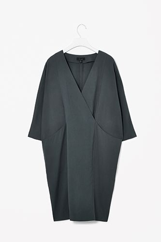 COS Overlap V-Neck Dress, $127.00, available at COS.