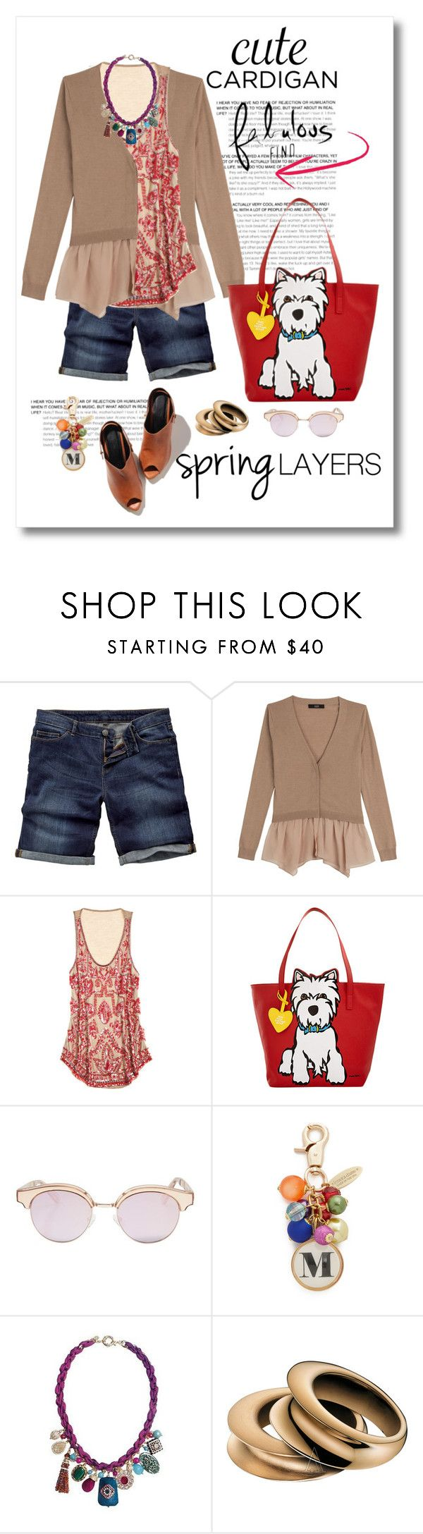 """Cute Spring Cardis"" by mellapr ❤ liked on Polyvore featuring Fat Face, Steffen Schraut, Calypso St. Barth, Marc Tetro, Le Specs, Lenora Dame, Calvin Klein, cutecardigan and springlayers"
