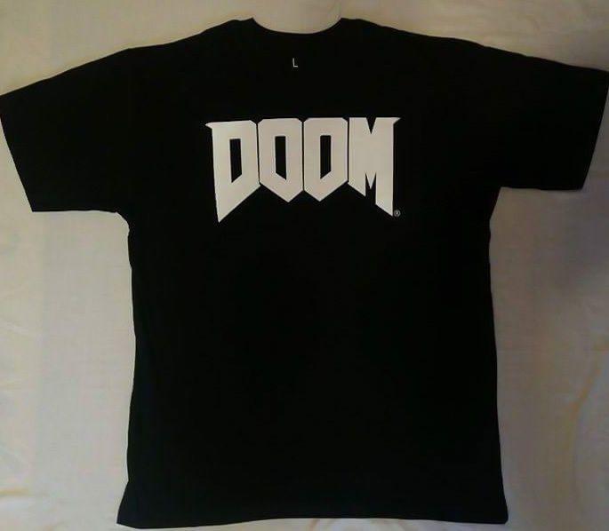 Original Doom T-Shirt (Size: L) #UnbrandedGeneric