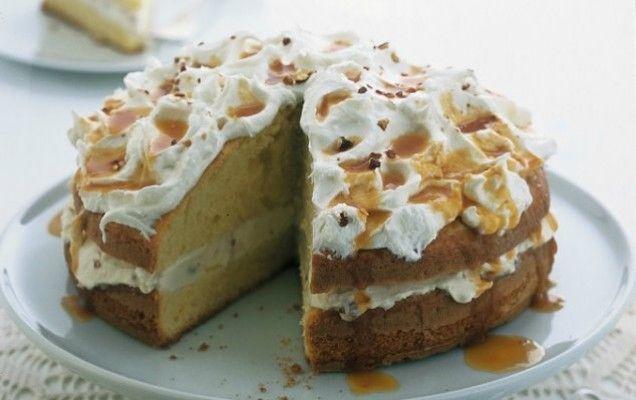 Κέικ με επικάλυψη κρέμας τυριού