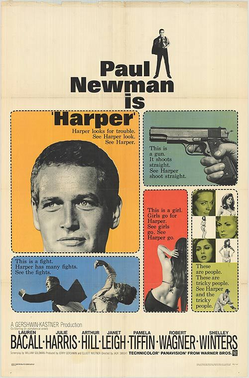 Paul Newman is Harper (aka Ross Macdonald's Lew Archer)