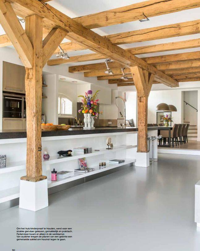 ... over Keuken op Pinterest  Kasten, België en Moderne keukens