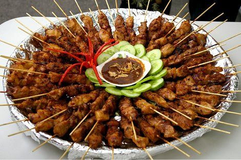 Satay comes in many versions but the most popular is the delicious Indonesian based Satay dish. With it's smooth peanut sauce and succulent flavors, this dish is bound to be a household favorite!