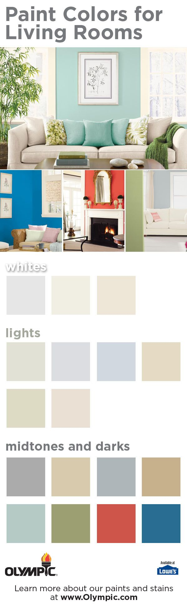 Colors For My Living Room Part - 42: Living Room Color Ideas - Get Inspired!