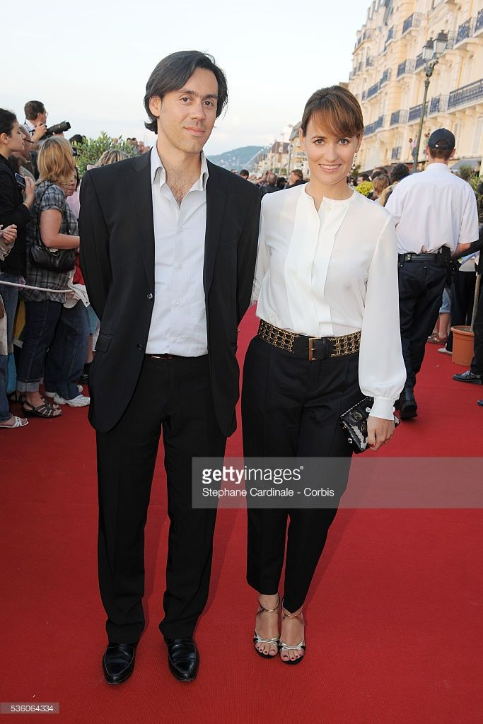 Photo d'actualité : Emmanuel Mouret and Judith Godreche at Cabourg...
