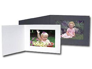 Cardboard Photo Folders Horizontal (25 Pack)