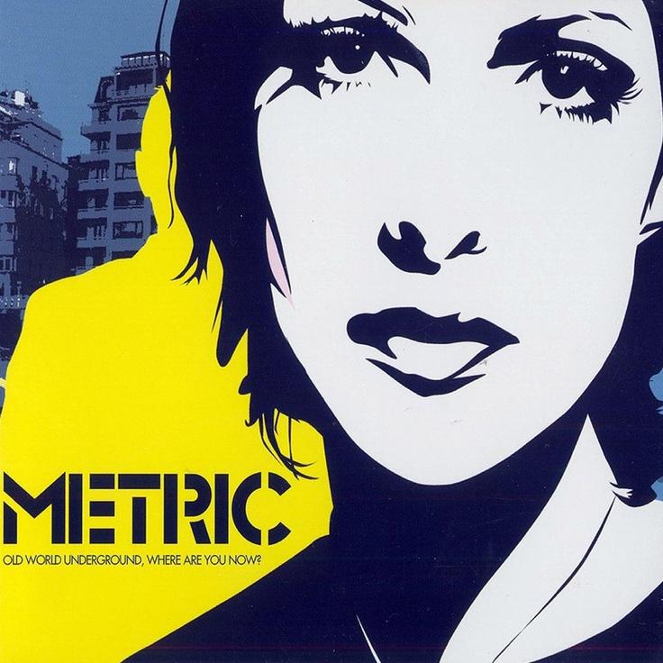 Metric Where are you now, Metric, Album art