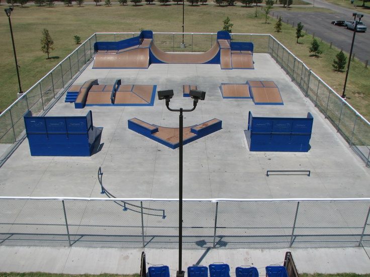 Our Free Skateboard Park That Is Open From 6am To 11pm The Skate Located In Beautiful Carey
