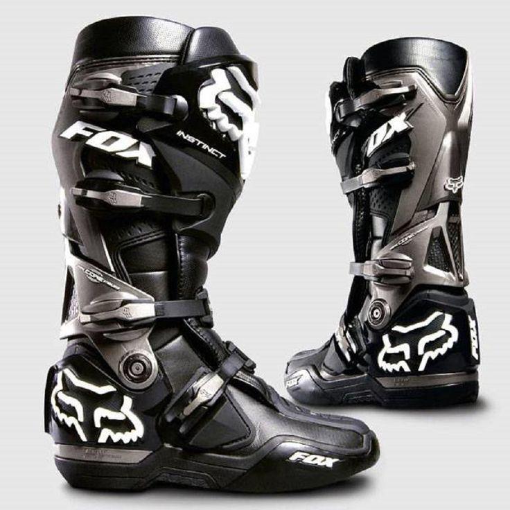 Fox Racing Instinct Boots Dirt Bike Motocross - Black