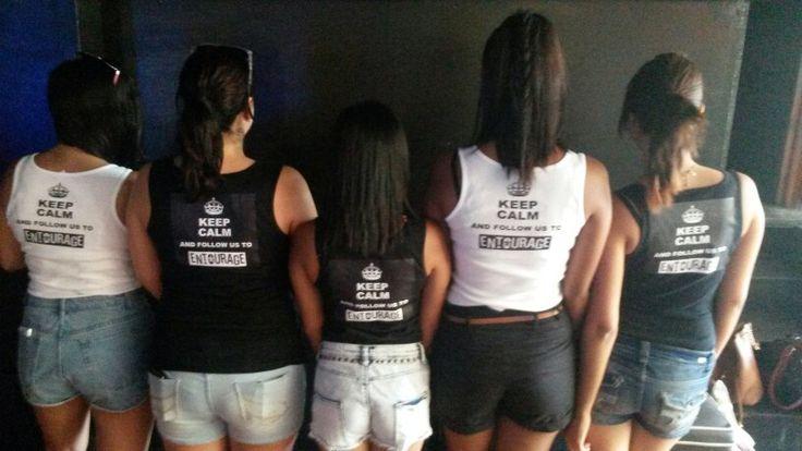Our new entourage promo girls