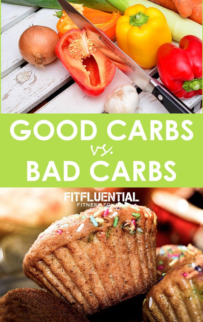 list of good and bad carbs pdf