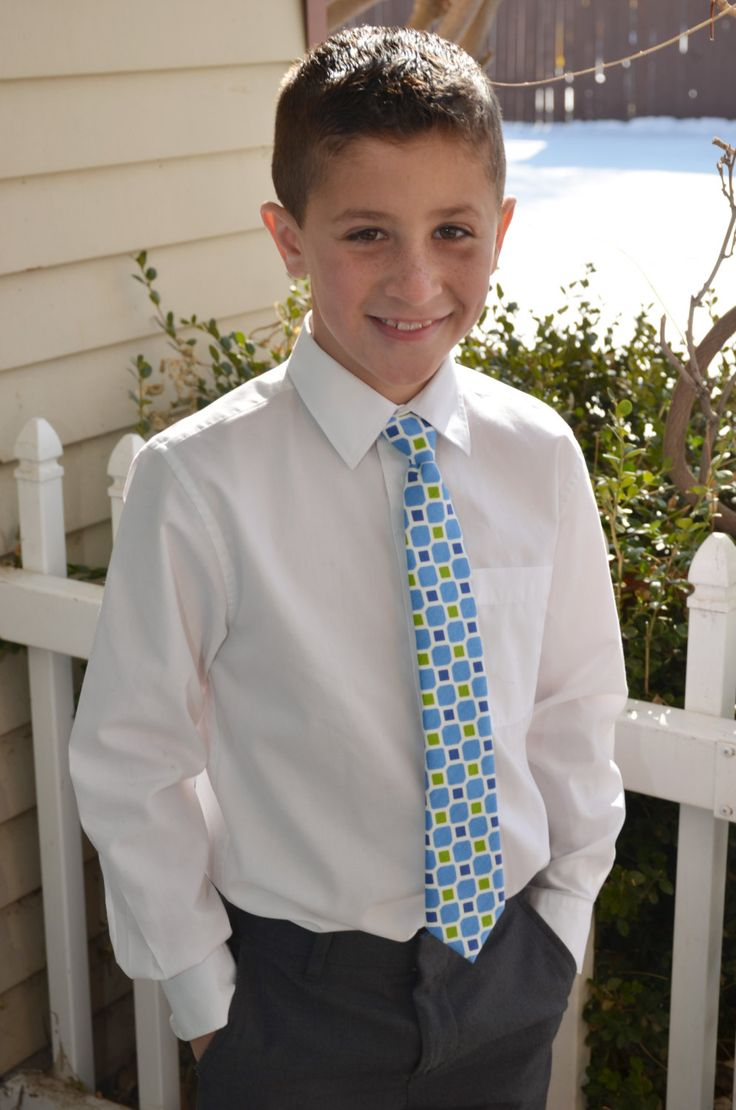 Neck Tie for boys by sewsocutie on Etsy