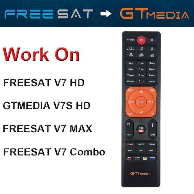 Genuine Freesat GTMedia HD Satellite Receiver Remote Control