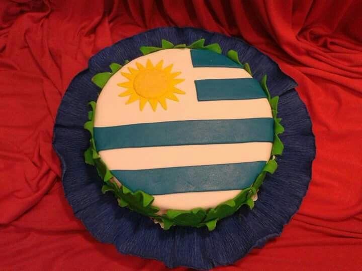 Cake Bandera Uruguay