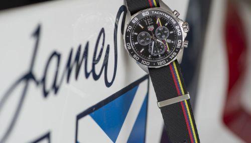 TAG Heuer: Formula 1 James Hunt Limited Edition auf dem Goodwood's Festival of Speed vorgestellt