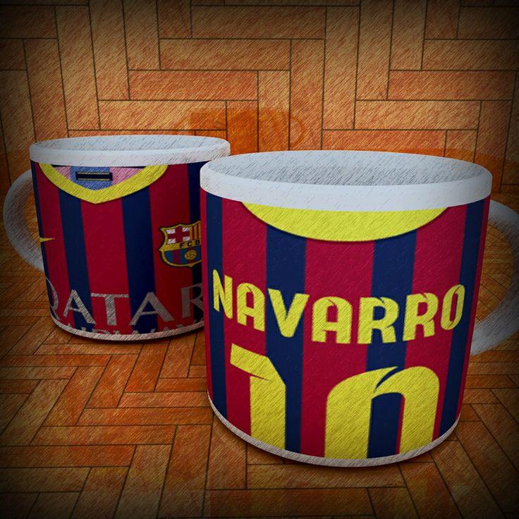 Mug camiseta Barcelona FC