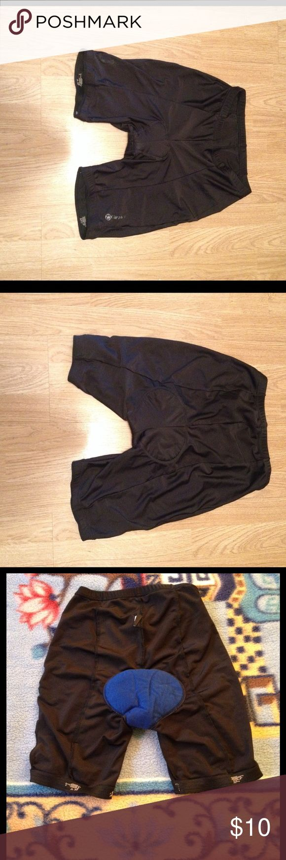 Canari Cycling Shorts Cycling shorts I used for training. The pair is about 4 years old, leg grips and padding has worn out. However, it is still in good condition with no tears and can still be used for shorter distance rides. Shorts Athletic