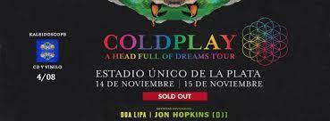 Resultado de imagen para coldplay argentina 2017