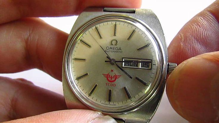 Omega Seamaster Turkish Railway Wristwatch Automatic Caliber Automatic 1022