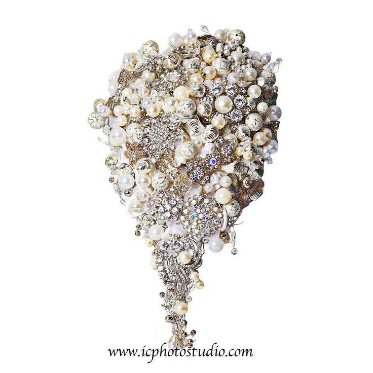 10 besten Brooch Bouquets Bilder auf Pinterest | Brautsträuße ...