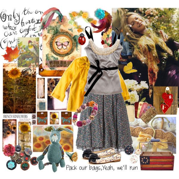 Bohème by chani on Polyvore featuring Topshop, Monsoon, J.Crew and bohemian