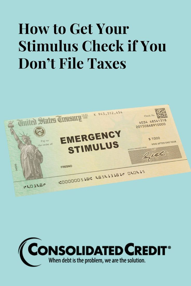 How to Get a Stimulus Check If You Don't File Taxes