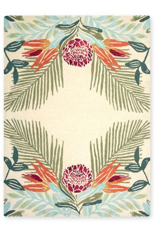 Buy Mirror Floral Rug from the Next UK online shop
