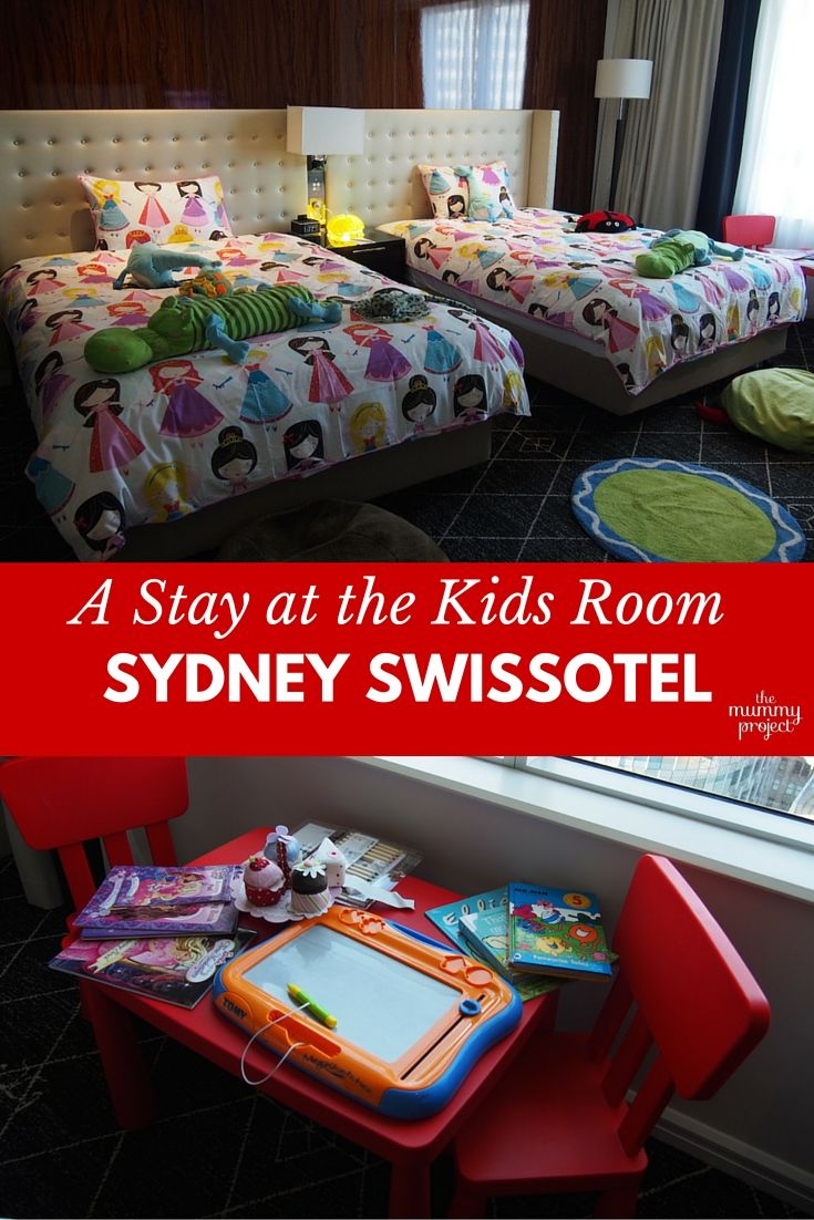 Fancy a luxurious weekend away in Sydney but still want to bring the kids? Check out the Swissôtel Sydney and its amazing Kids Room. It's a weekend that the whole family will enjoy.
