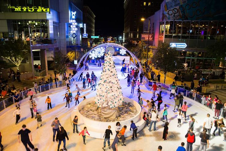 A Celebrated Downtown Phoenix Tradition  CitySkate  Holiday Ice Rink