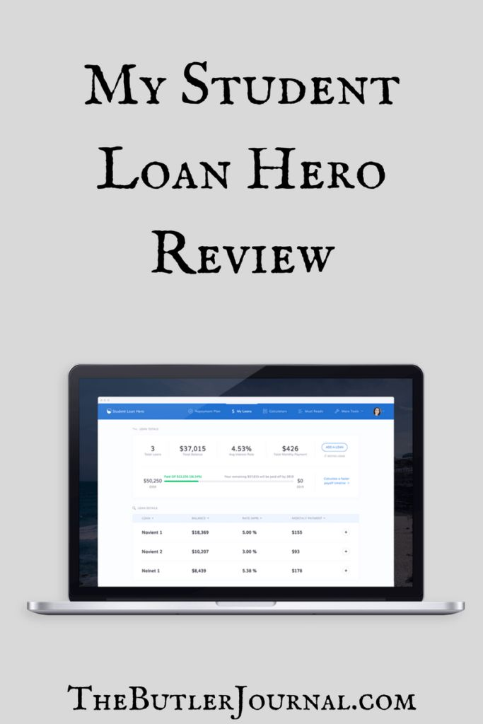 I've been hearing about Student Loan Hero for a while. I decided to sign up with them a few weeks ago. This post is my Student Loan Hero review.