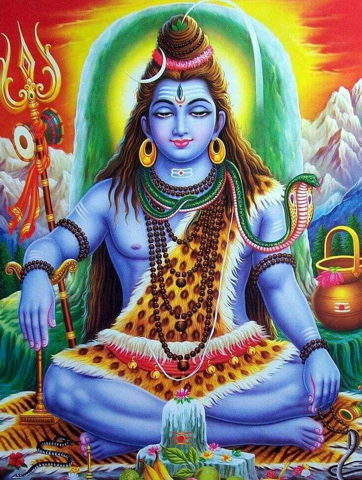 ป กพ นโดย Dinesh Kumar Harod ใน Mahadev พระศ วะ ศาสนาพ ทธ โอม