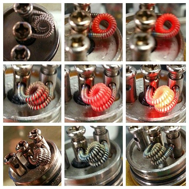 how to build a clapton coil