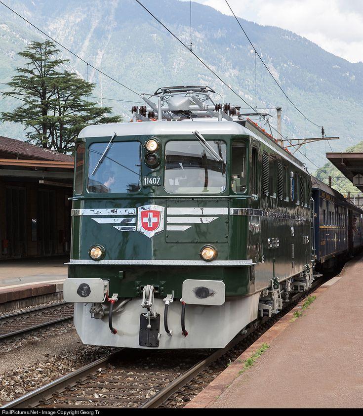 RailPictures.Net Photo: 11407 Mikado 1244 Ae 6/6 at Bellinzona, Switzerland by Georg Trüb