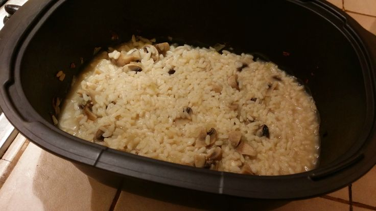 Risotto champignons tupperware