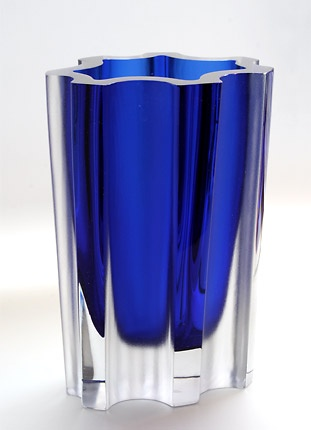 Art Glass Vase by Tapio Wirkkala - Vintage Finnish Glass