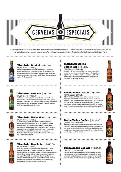 Na Factory Coffe Bar você pode apreciar vários tipos de #cervejas e se deliciar com uma #gastronomia diferenciada. Confira mais #pubs para comer e beber em #Blumenau durante a #Oktoberfest no Guia da Oktober: http://www.guiadaoktober.com/pubs/